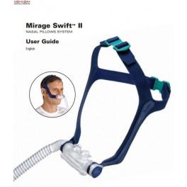 Masca nazala CPAP ResMed Mirage Swift II